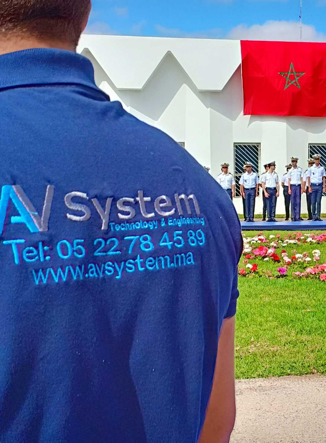 AV System | Vente, Location et installation de solutions et matérielles techniques pour tous vos événements Casablanca Maroc